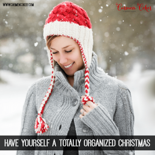 Get Organized For Christmas